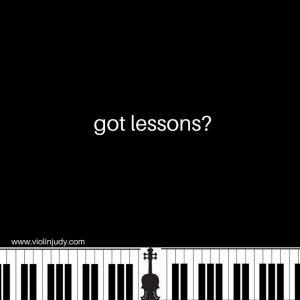 got lessons