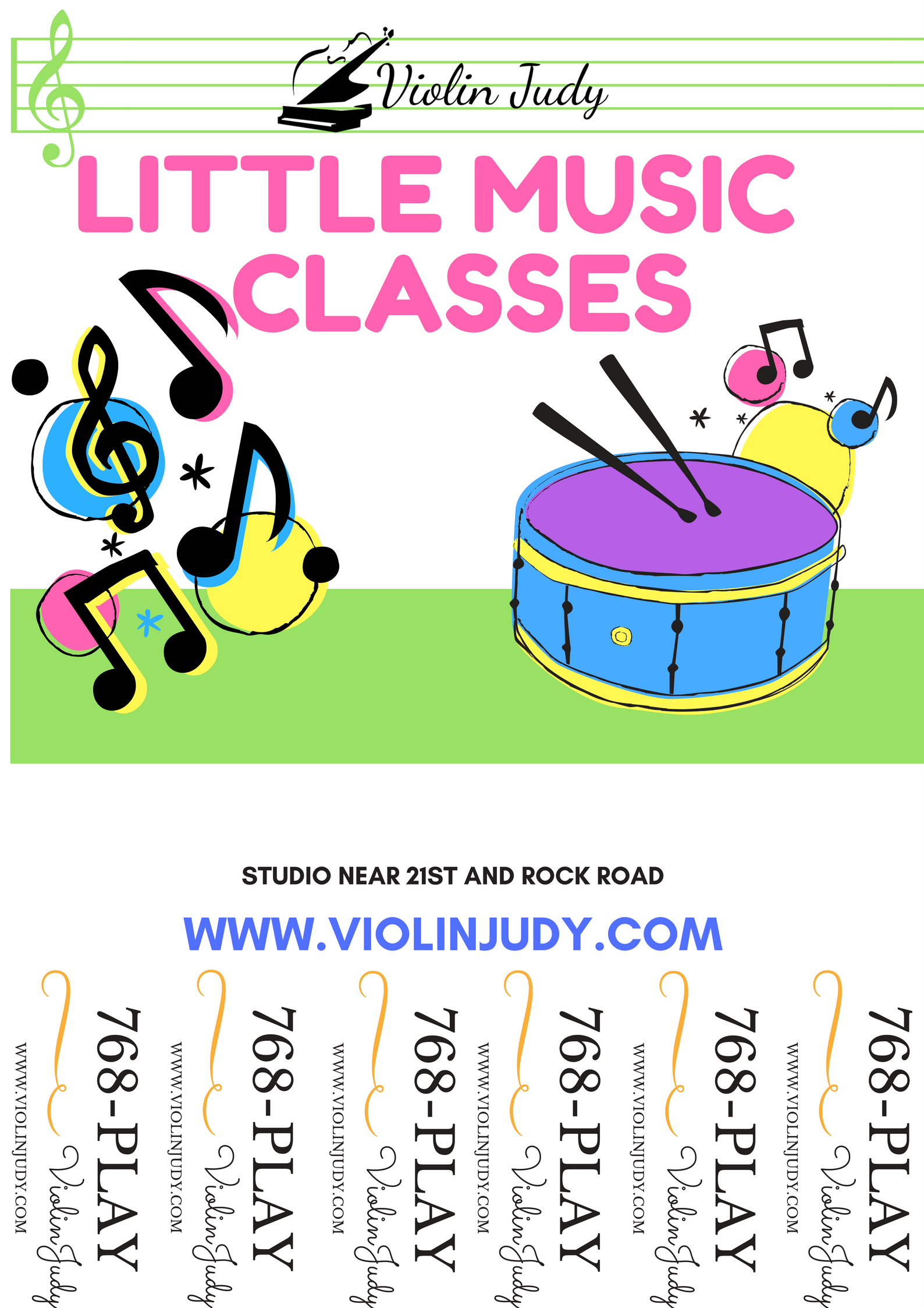 Starting your own Little Music Classes - ViolinJudy