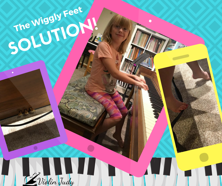 The Wiggley Feet Solution